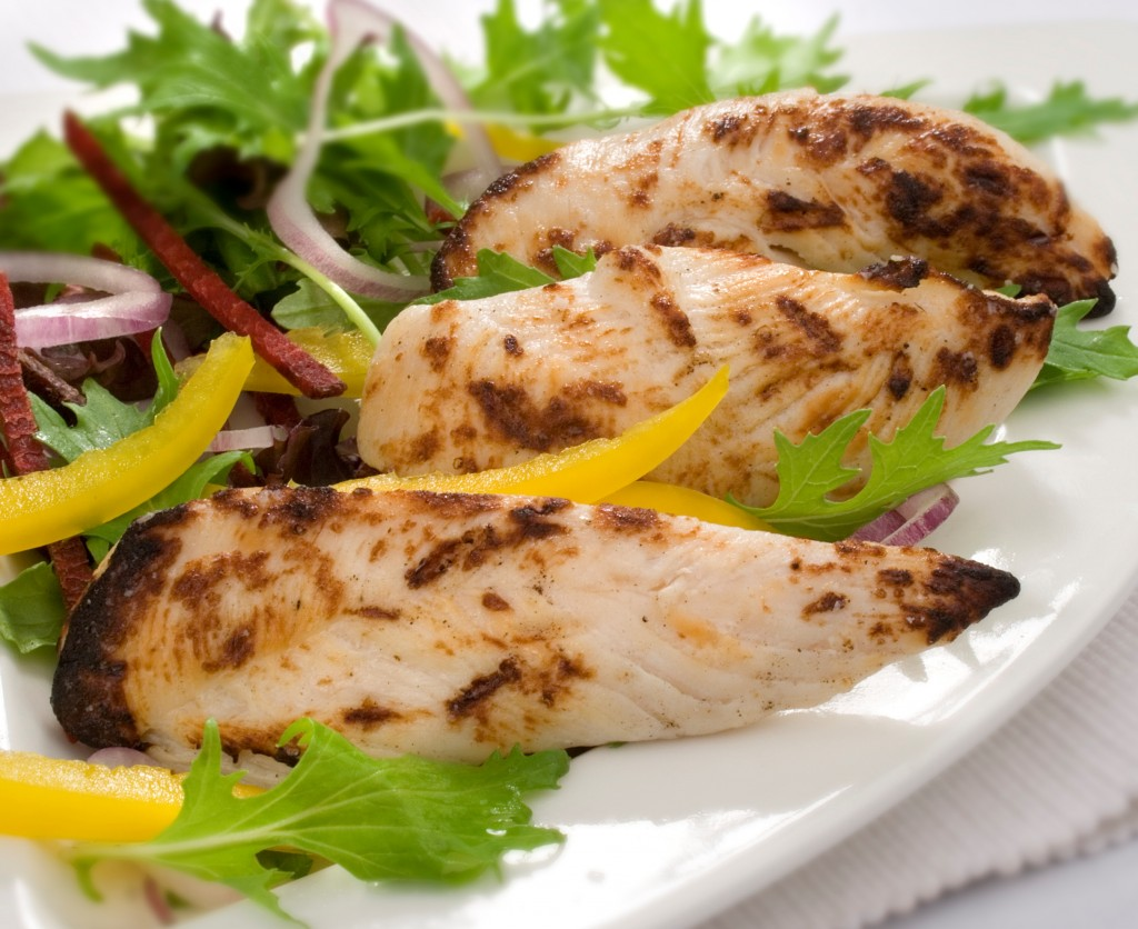 Cooked Charcoal Chicken Mini Fillets