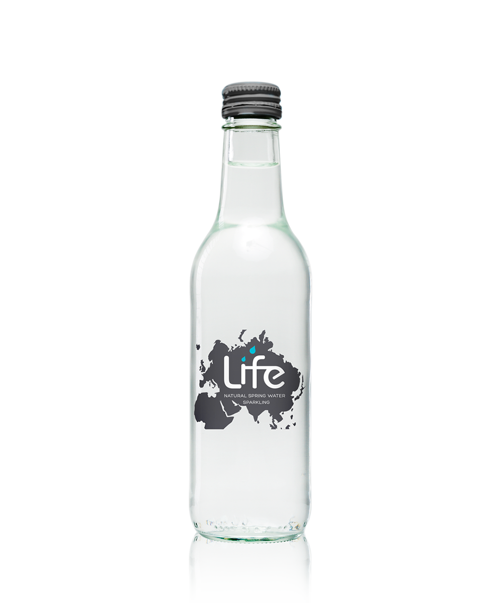 LIFE Sparkling Water (330ml) Glass