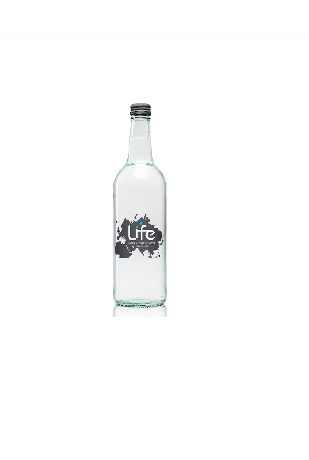 LIFE Sparkling Water (750ml) Glass