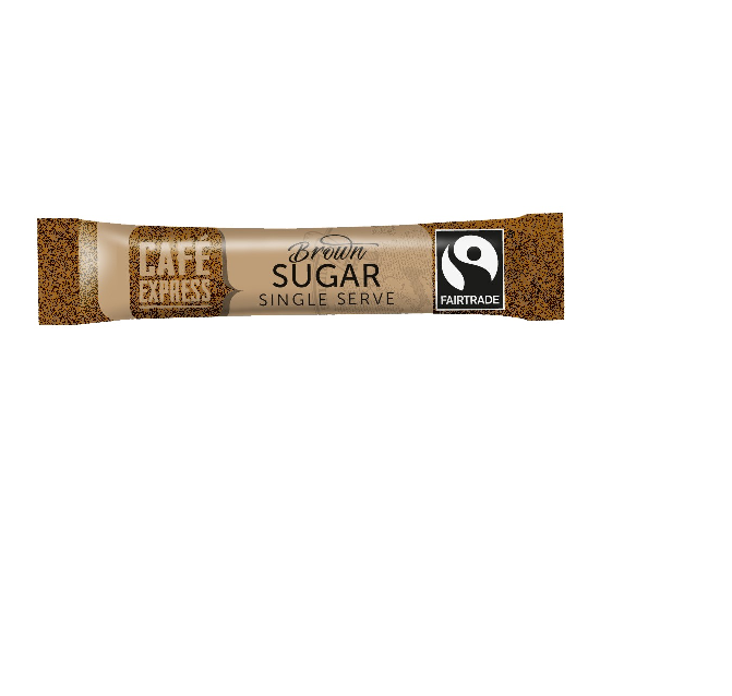 CAFÉ EXPRESS Fairtrade Brown Sugar Sticks