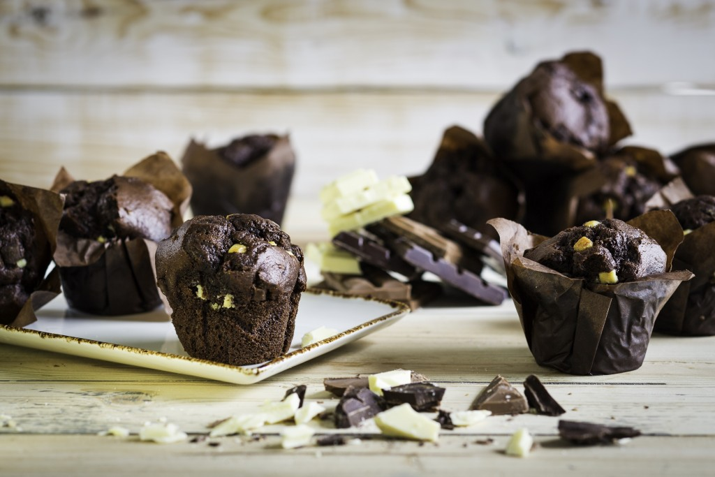KARA Injected Chocolate Tulip Muffins