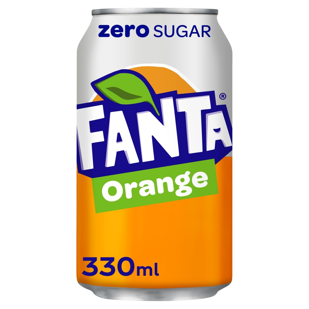 FANTA Zero Orange (Can)
