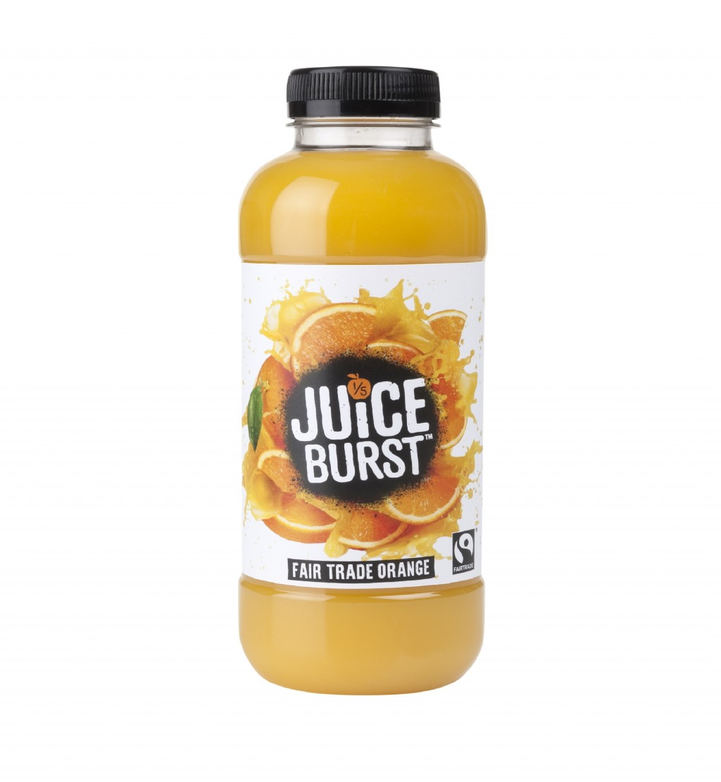 JUICE BURST Fairtrade Orange Juice (Bottle)