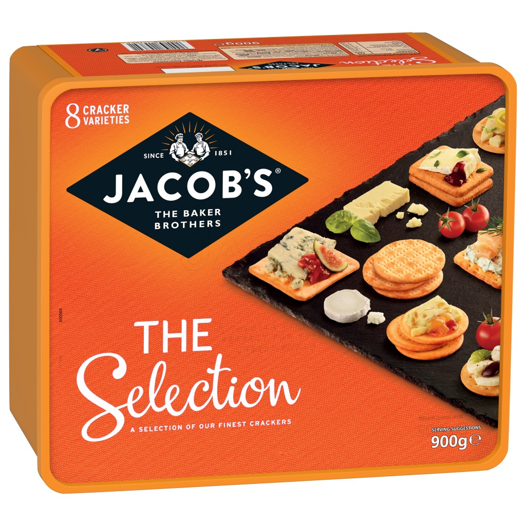 JACOBS Crackers Biscuits For Cheese