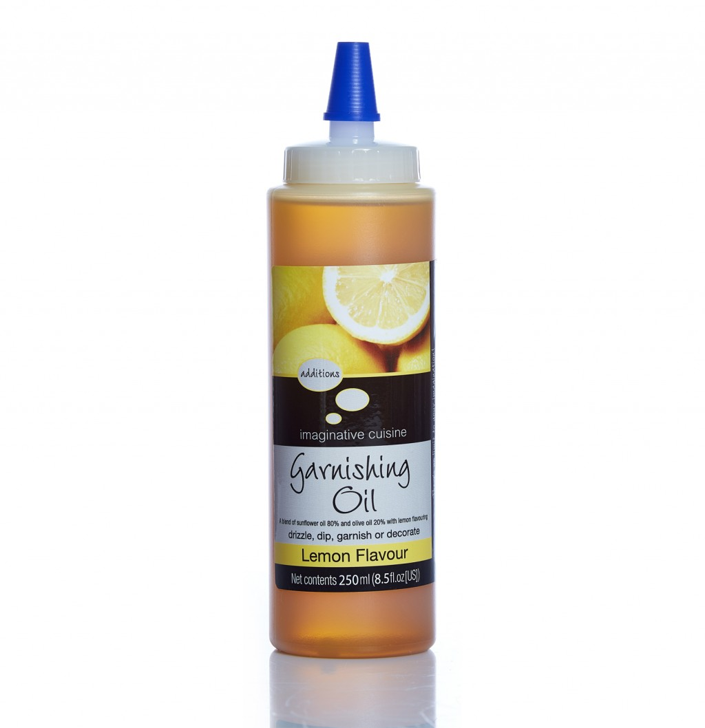 IMAGINATIVE CUISINE Lemon Flavour Garnishing Oil