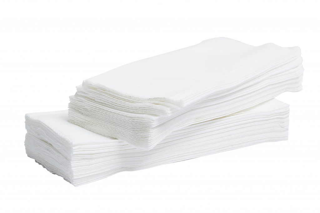 C-fold 2ply White Hand Towel