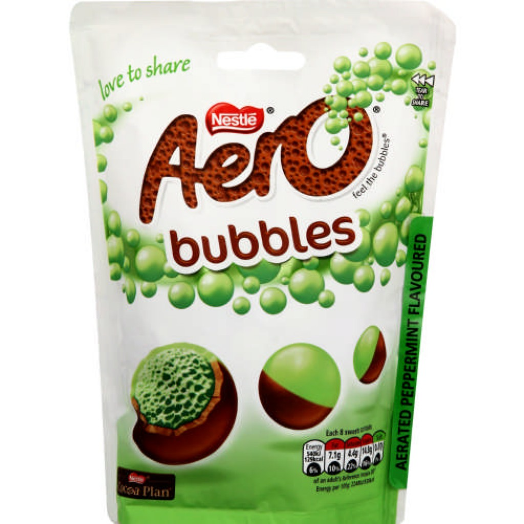 Aero Bubbles Peppermint Pouch