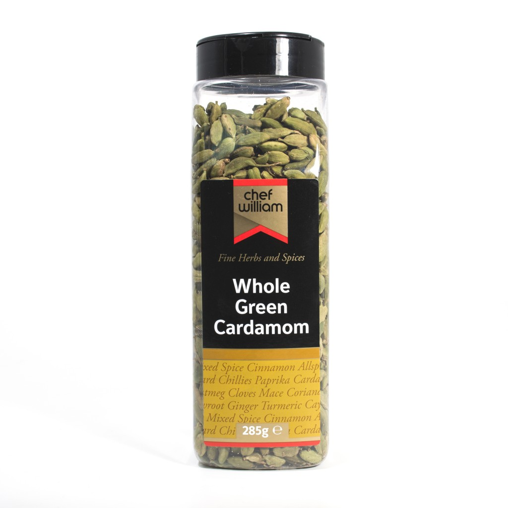CHEF WILLIAM Whole Green Cardamom Pods