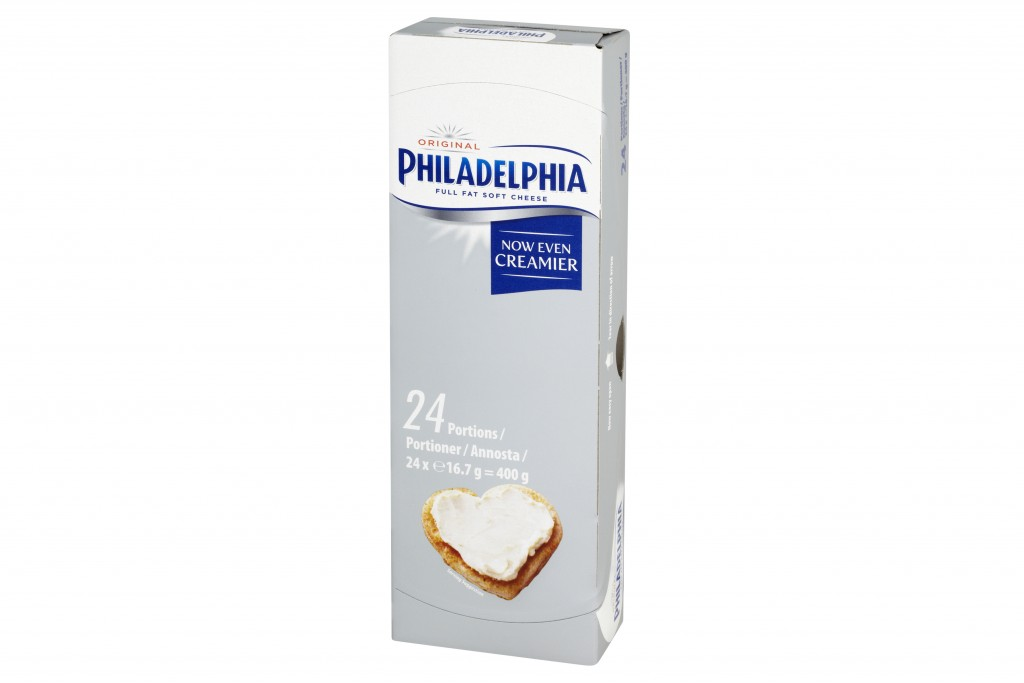 PHILADELPHIA Cheese Portions