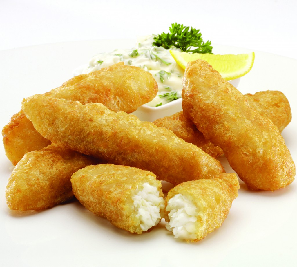 Beer Battered Cod Goujons