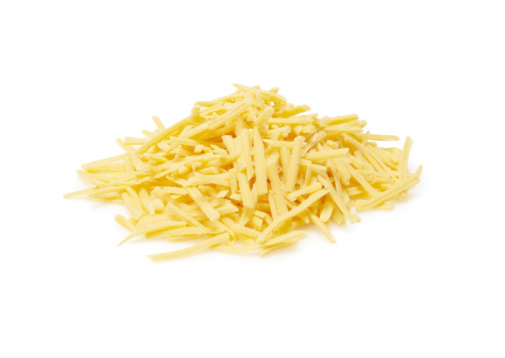 White Mature Grated Cheddar