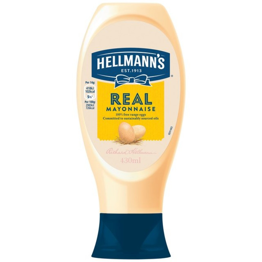 HELLMAN'S Squeezy Mayonnaise