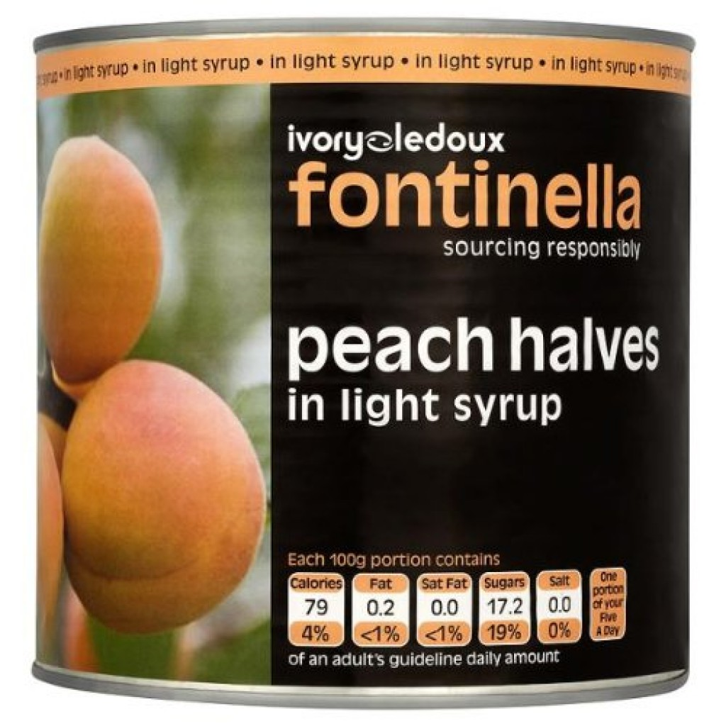 FONTINELLA Peach Slices in Syrup
