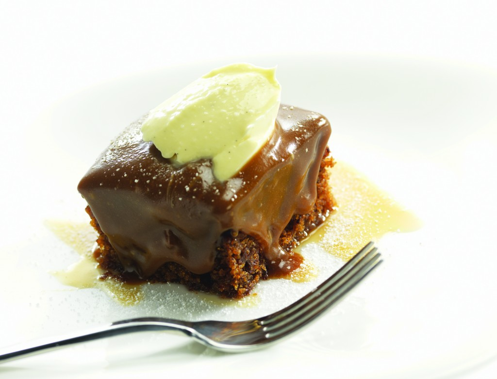 AULDS Sticky Toffee Pudding Squares