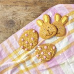 Easter Egg & Rabbit Gingerbread Cookies
