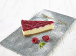MADEMOISELLE DESSERTS White Chocolate & Raspberry Cheesecake