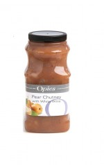 OPIES Pear Chutney with White Wine