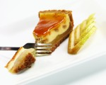 AULDS Baked Pear & Caramel Cheesecake