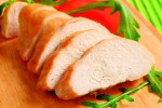 5mm Steam Cooked Sliced Chicken