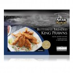 Breaded Butterfly Tail-on King Prawns